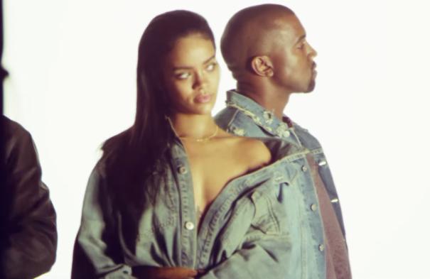 Les Kanye West x Adidas Originals dans la vidéo behind the scene de FourFiveSeconds ?