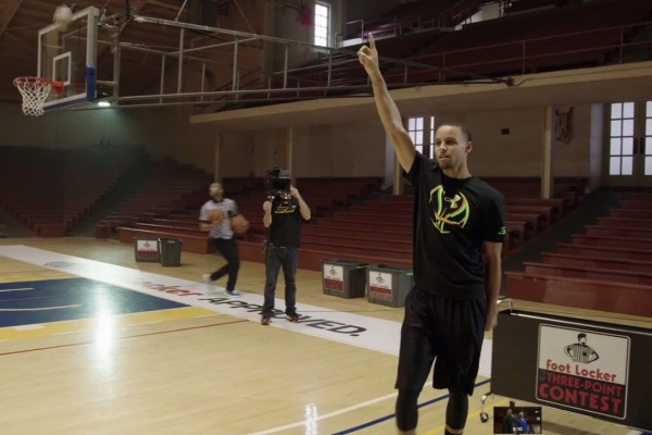 Foot Locker x Under Armour : Quand Stephen Curry affronte une fillette de 10 ans !