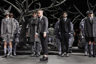 Fashion week New-Yorkaise - défilé paris AH14 Thom Browne