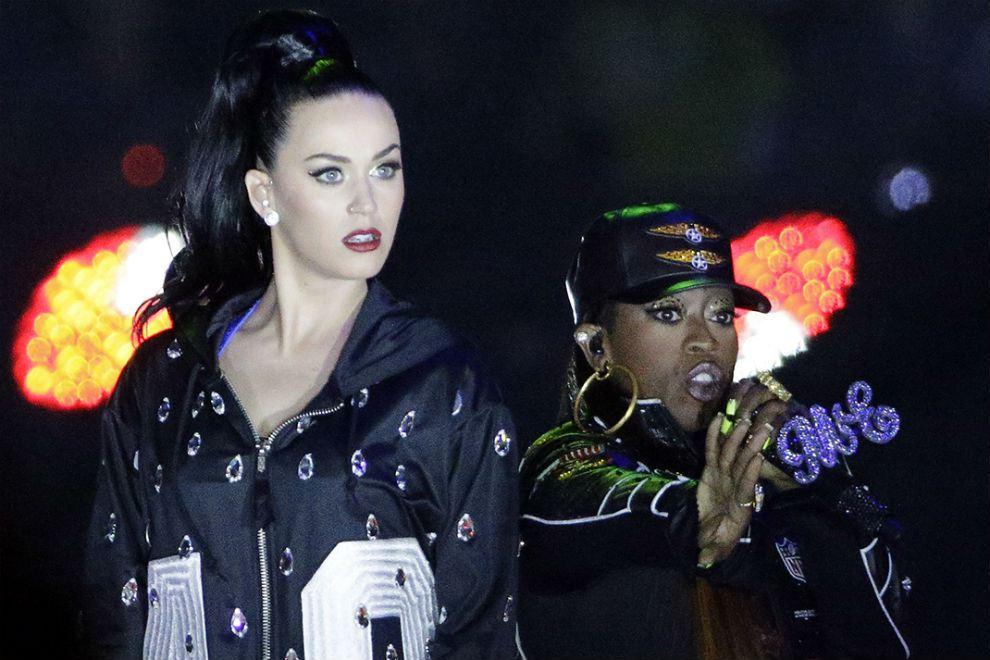 Super Bowl XLIX: Katy Perry, Missy Elliott & Lenny Kravitz