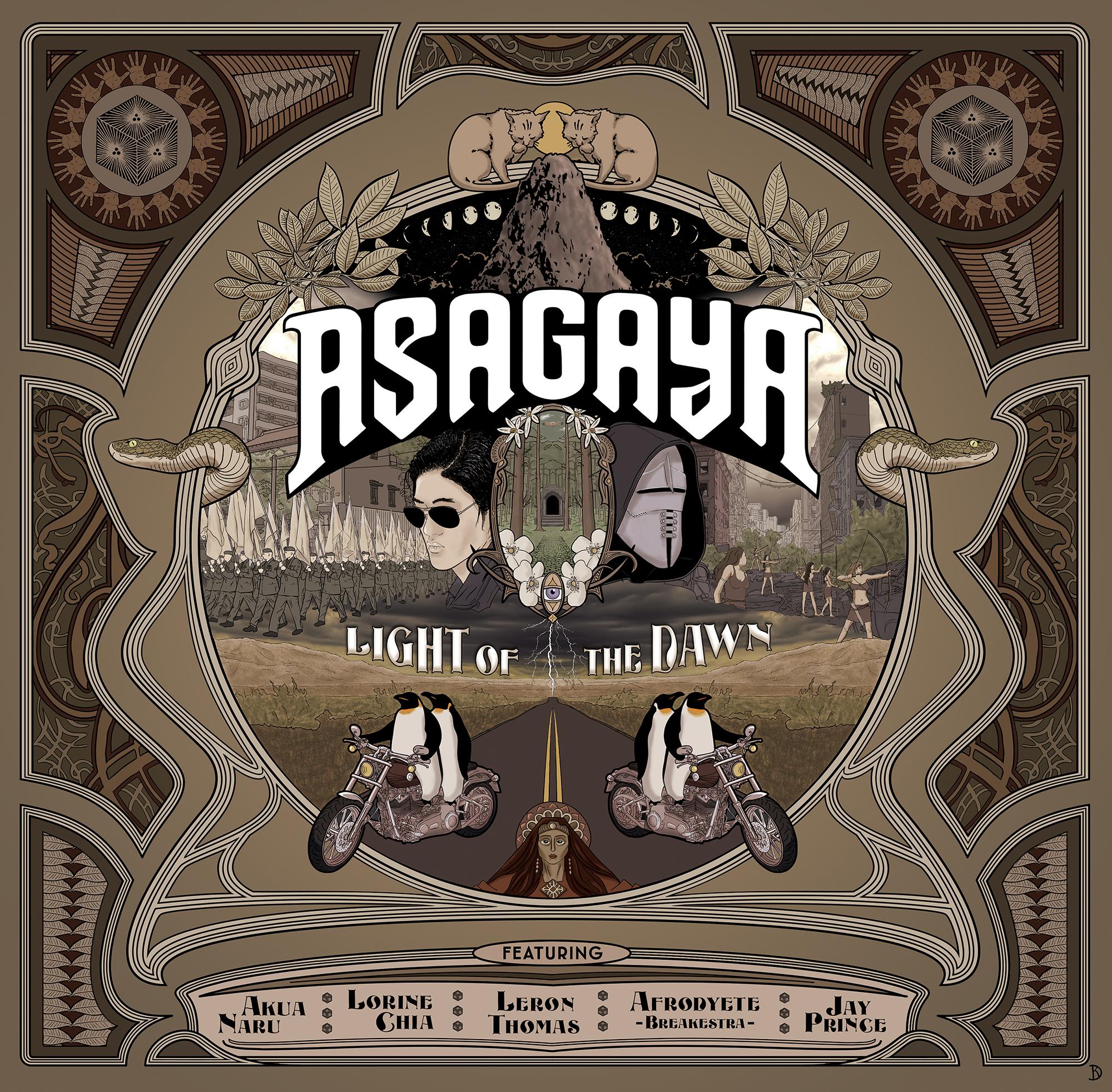 [CHRONIQUE] Asagaya – The Light Of The Dawn