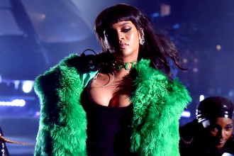Rihanna Bitch Better Have My Money Live iHeartRadio Music Awards