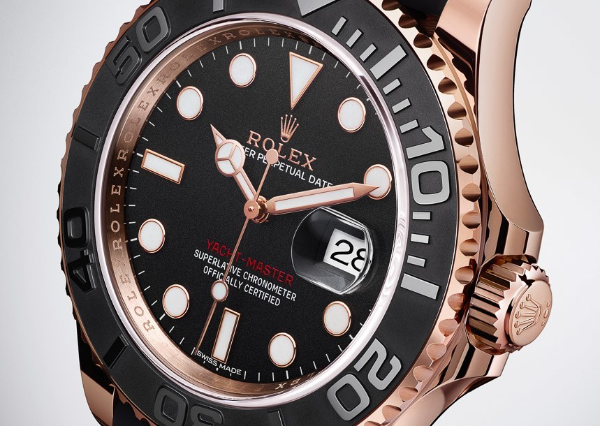 New ROLEX Yacht-Master « Everose »
