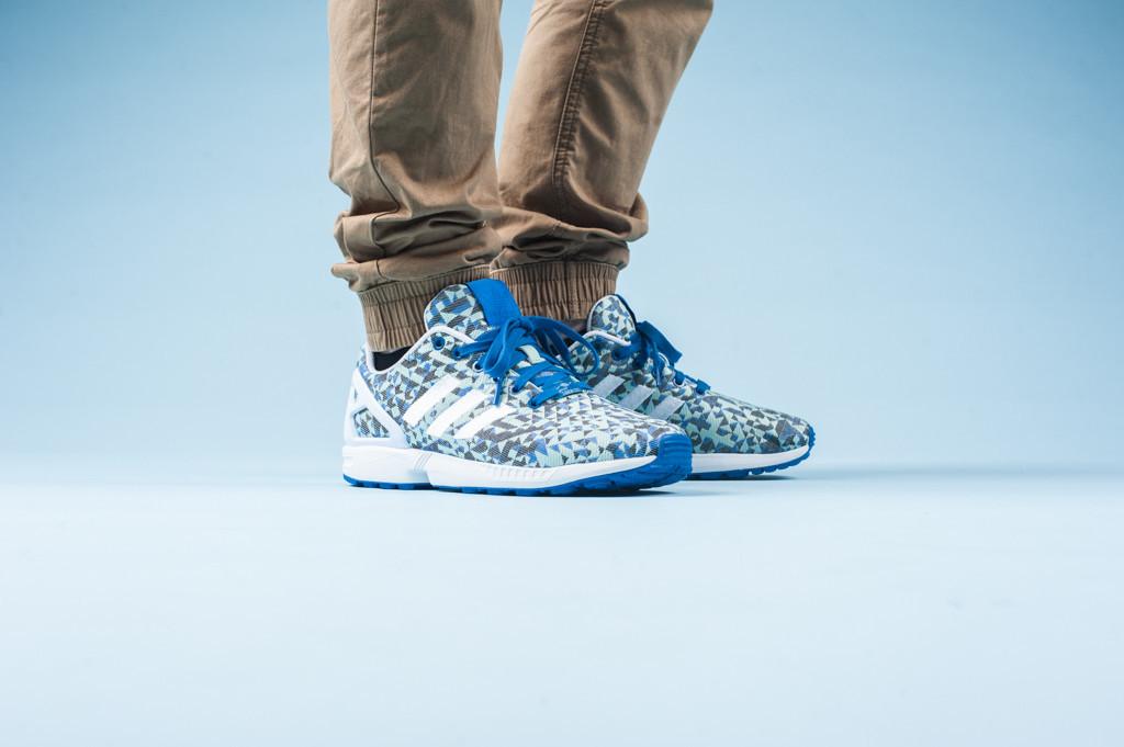 adidas Originals ZX Flux Weave «Ocean Blue»