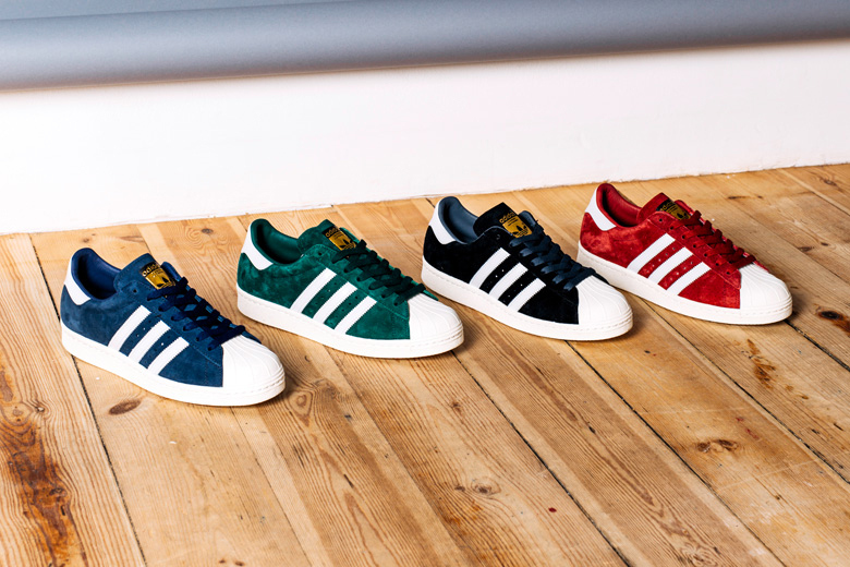 Adidas Originals Superstar – SUEDE PACK