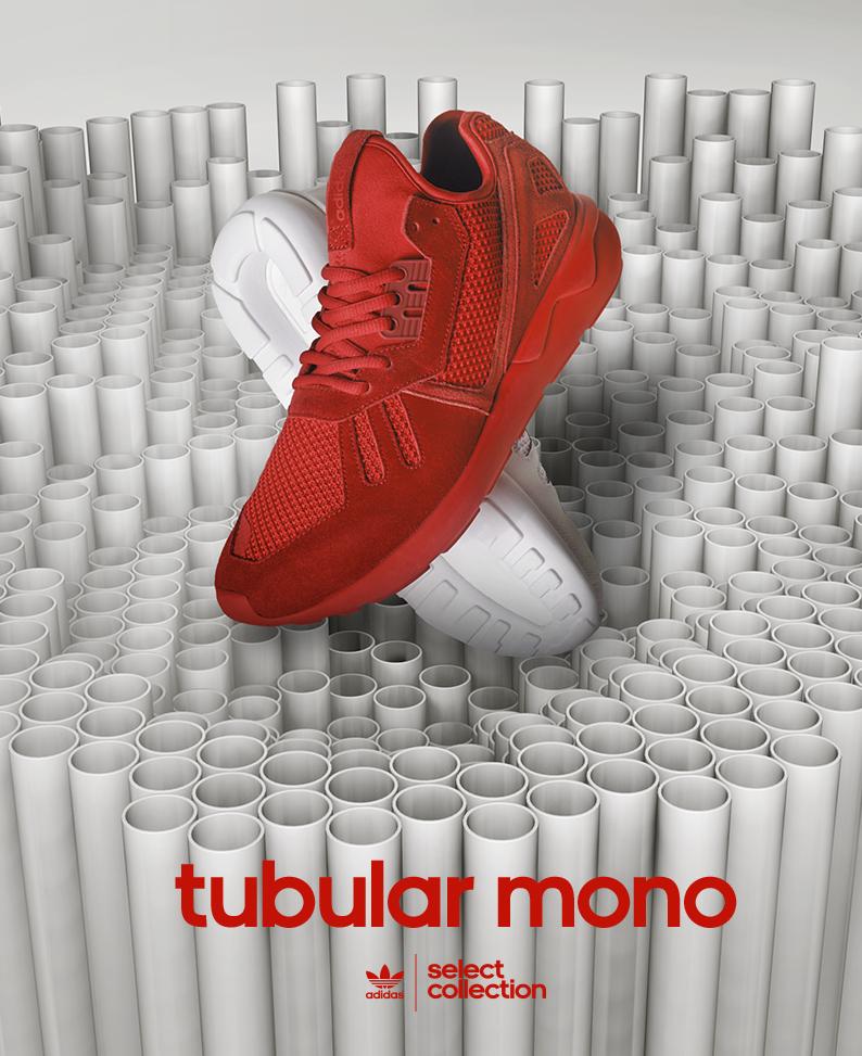 Nouvelle Adidas «Tubular mono»