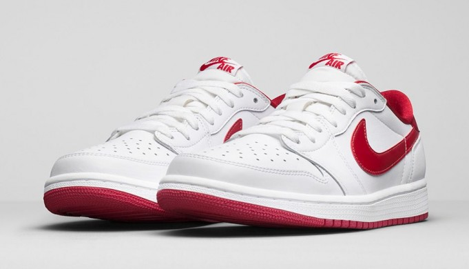 L'Air Jordan 1 Low OG «White/varsity red»