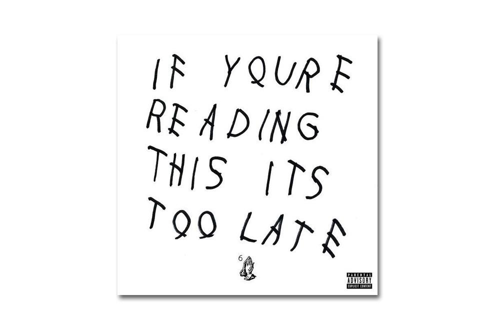 La mixtape de Drake «If You're Reading This It's Too Late» sortira dans les bacs