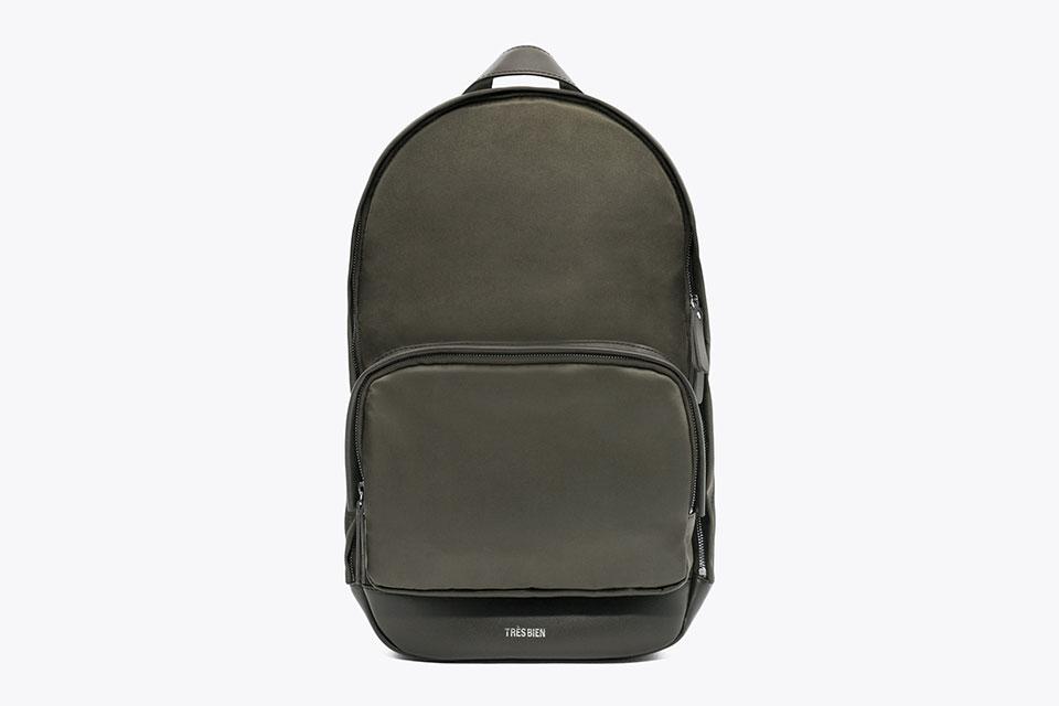 Très bien x Haerfest : Le sac à dos en cuir et nylon Japonais
