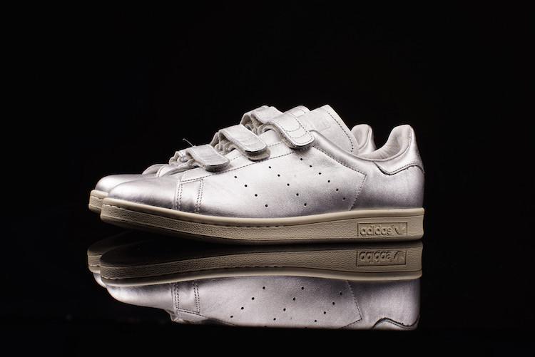 NIGO x Adidas : Stan Smith » Silver »