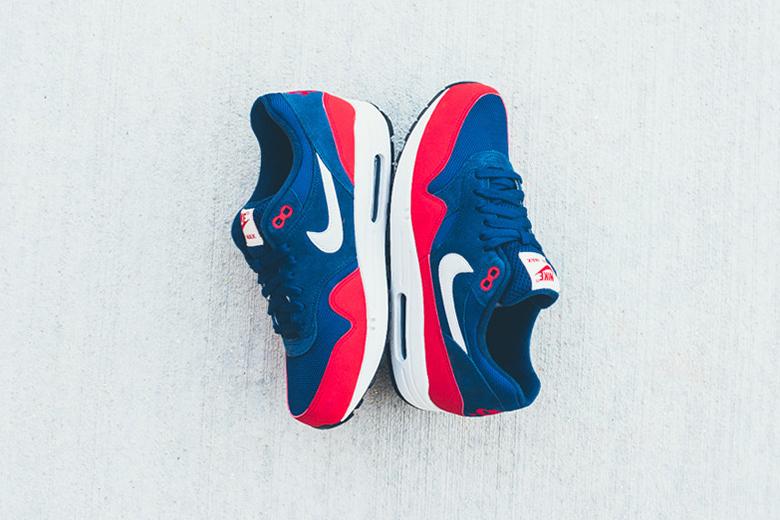 Nike Air Max 1 «Navy/Red»