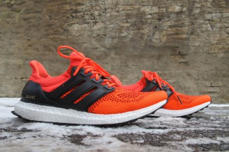 Ultra Boost Solar Red Adidas