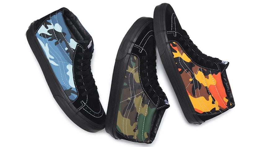 Supreme x  Vans : «Camo Pack»