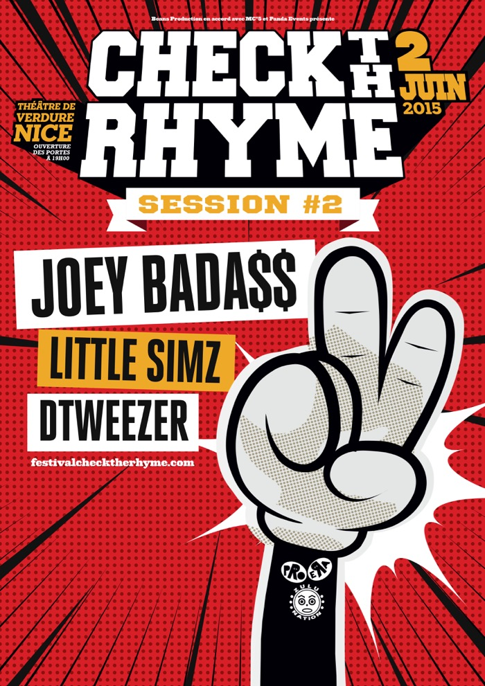 Gagnez 2×1 place pour la session Check The Rhyme avec Joey Bada$$ à Nice