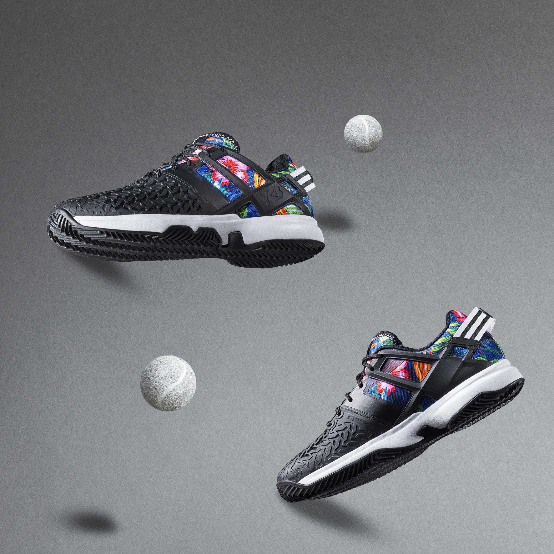 Y-3 et Adidas : une capsule dédiée à Roland Garros