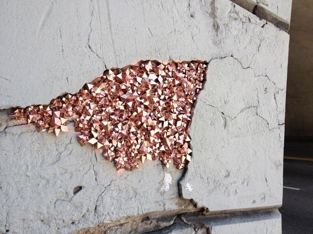 Urban Geodes : street art d'inspiration minérale