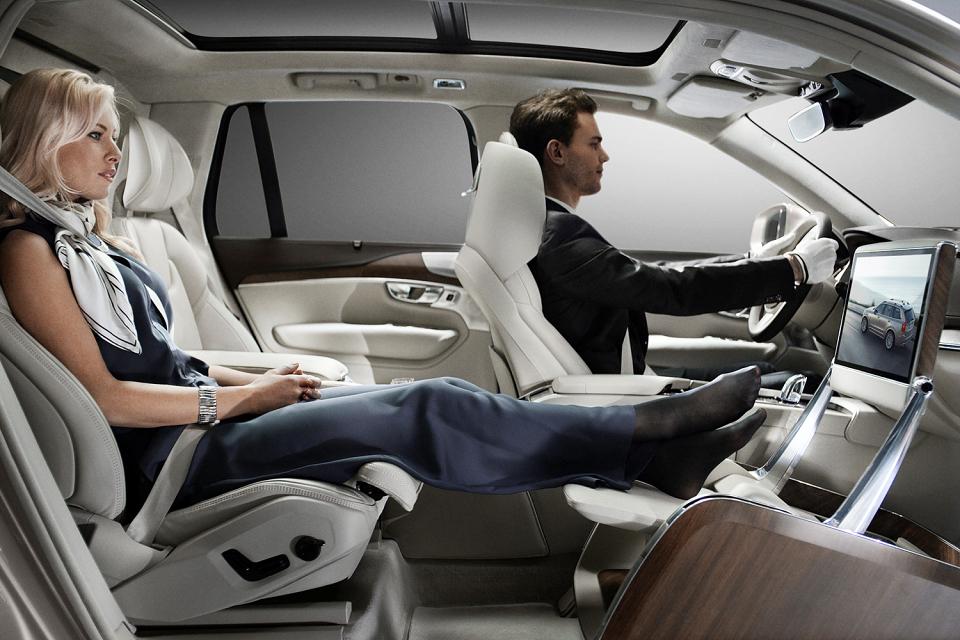 Volvo dévoile son concept «Lounge Console»
