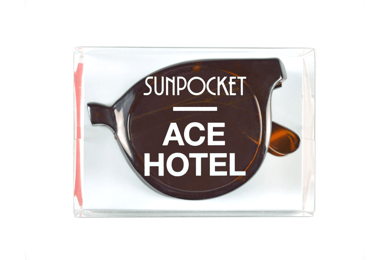 Ace hotel x Sunpocket : La collection 2015