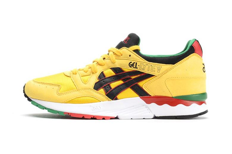 ASICS GEL-Lyte V Yellow/Black