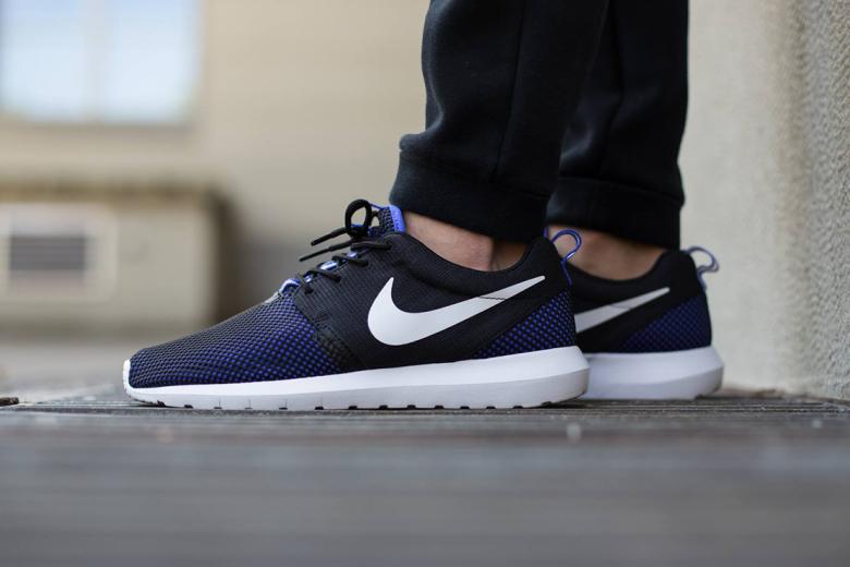 Nike Roshe NM Breeze Black/White-Persian Violet