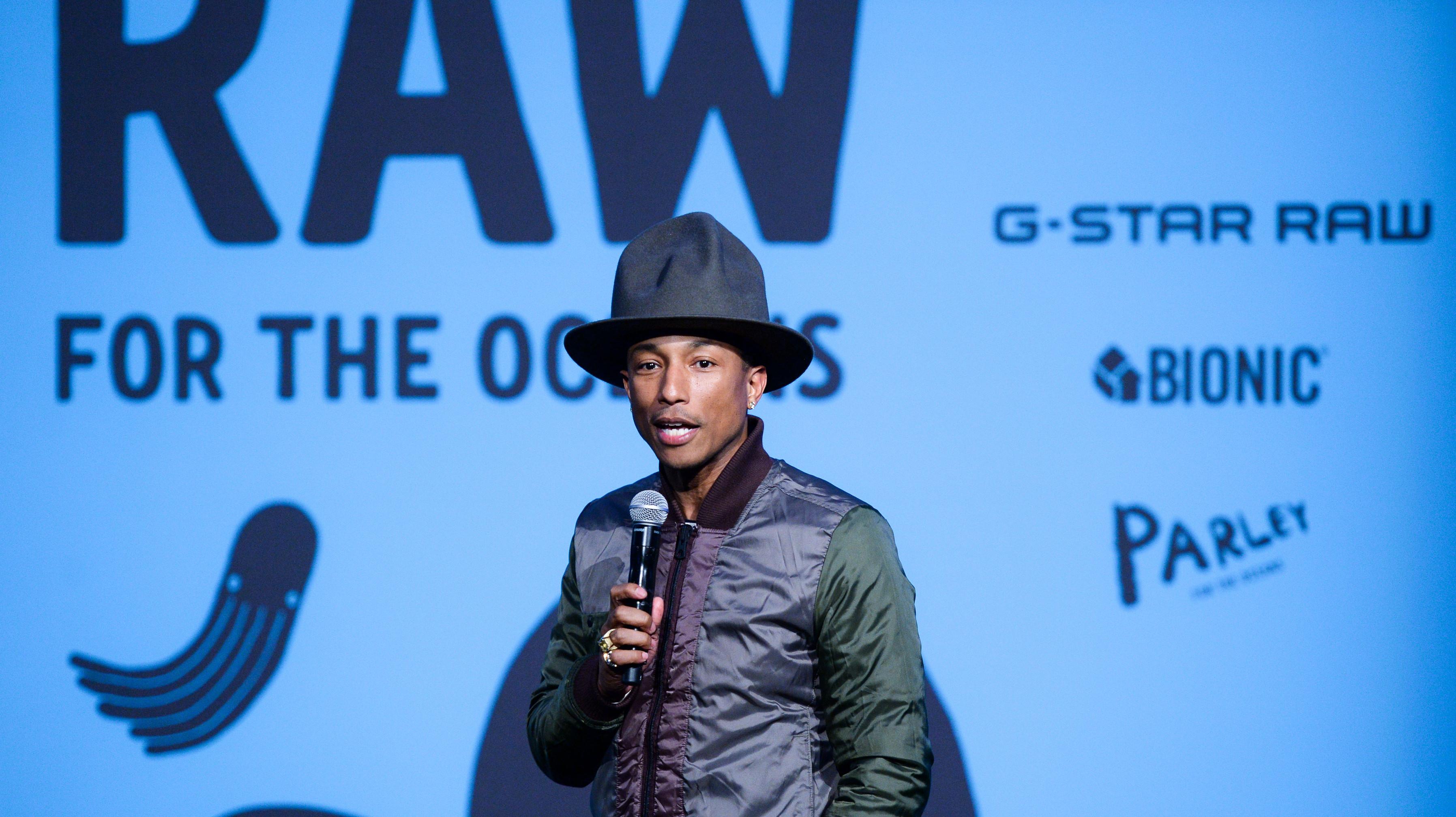 i-D Magazine x RAW for the Oceans x Pharrell Williams : le documentaire