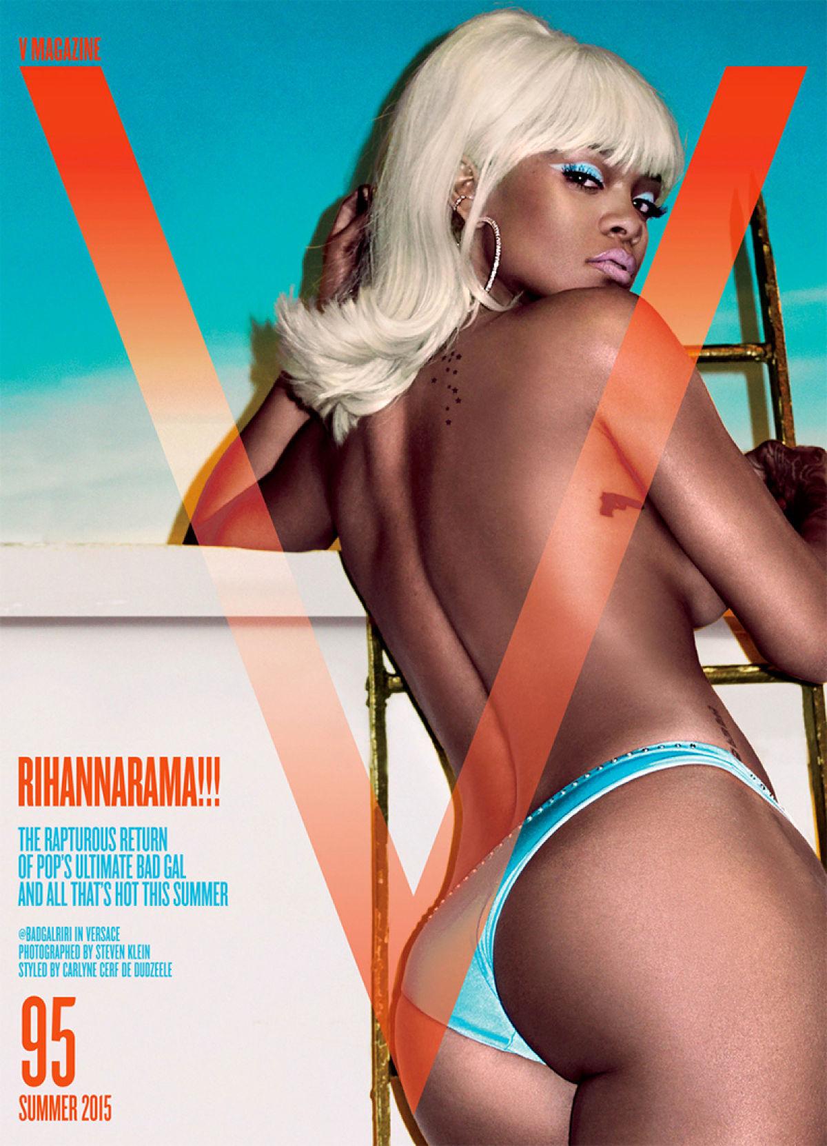Rihanna se met à nu en couverture du V Magazine