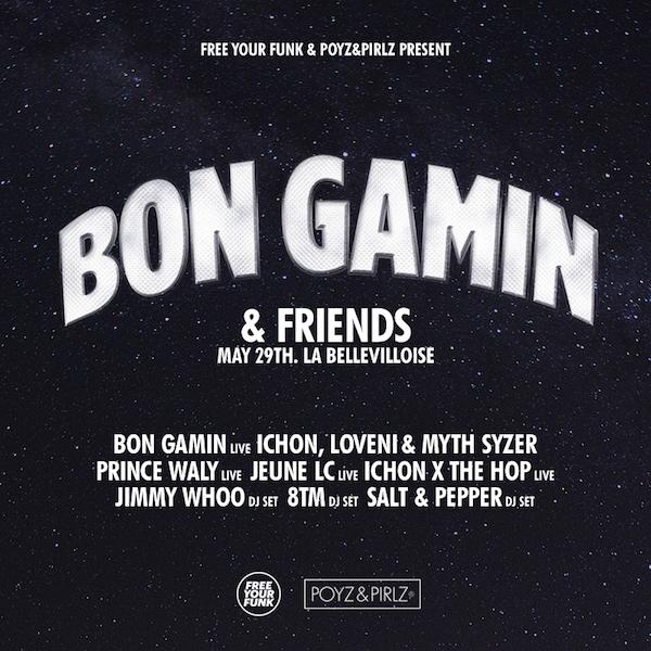 UPDATE: Bon Gamin & friends à La Bellevilloise le 29 mai : 2 places à gagner !