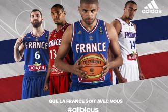 adidas dévoile les maillots de l'Equipe de France de Basket pour l'Euro 2015 !