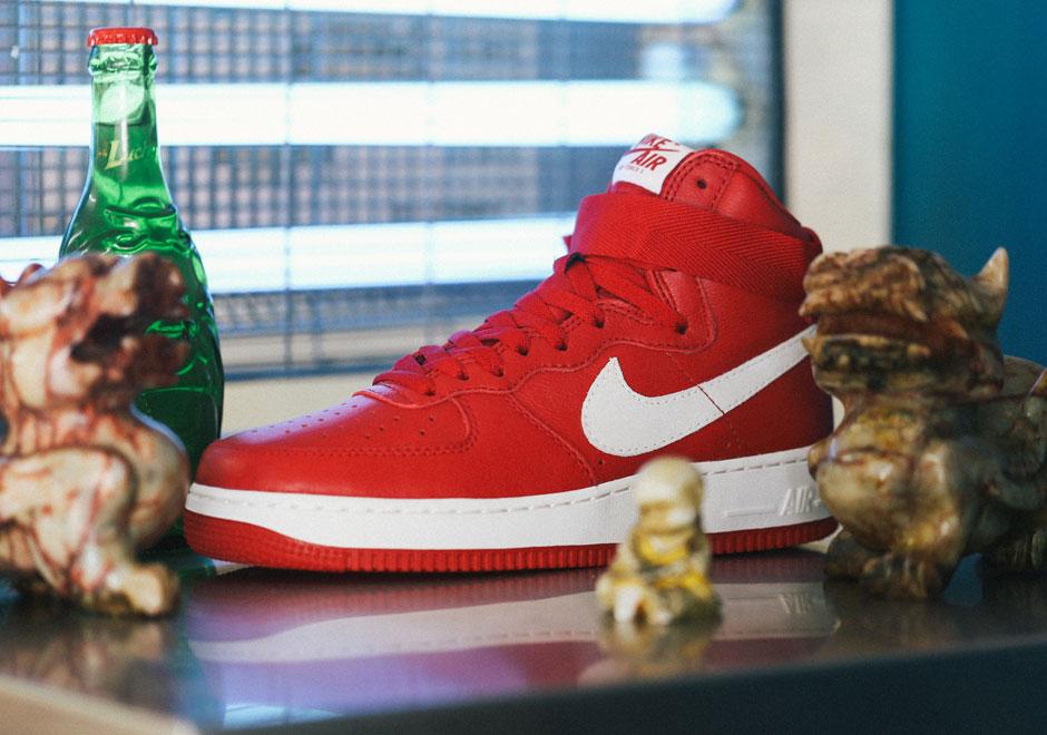 Nike Air Force 1 High «Nai Ke»