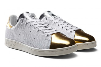 stan smith mid summer metallic pack