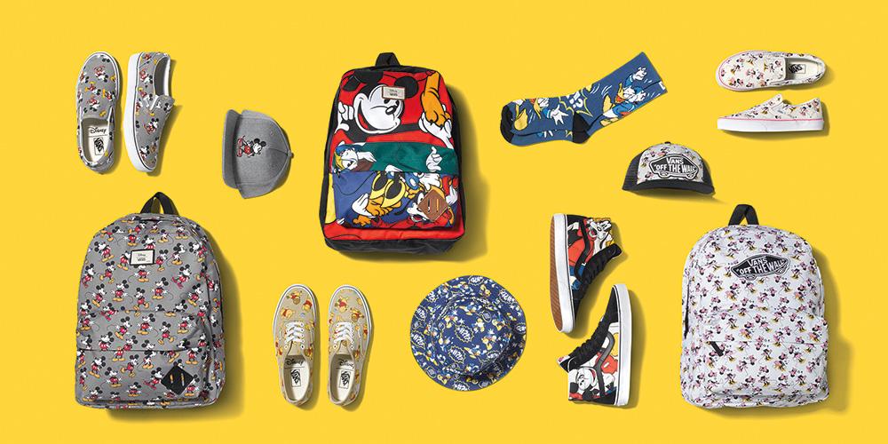 Concours : gagnez votre kit Vans x Disney, Young at Heart !