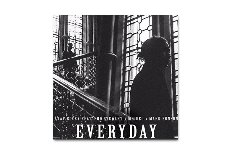 A$AP Rocky feat Rod Stewart, Miguel et Mark Ronson – Everyday