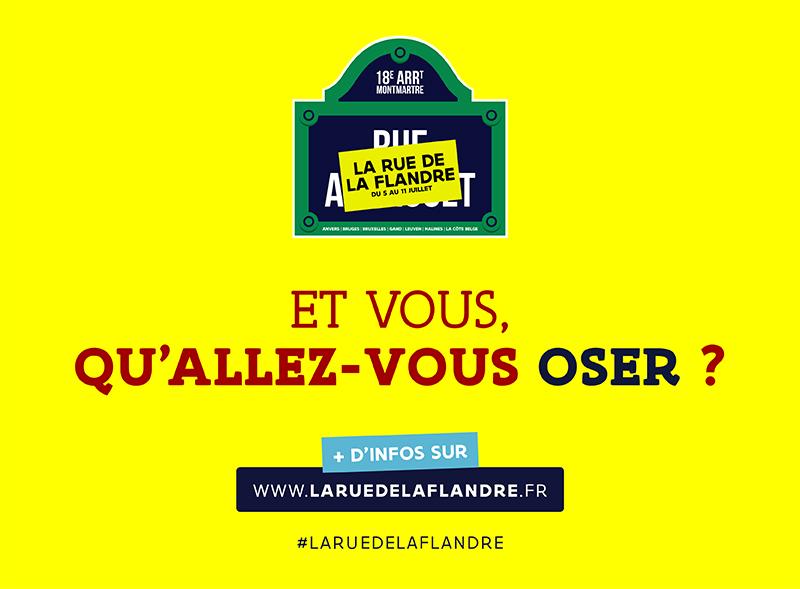 La Flandre s'implante à Paris du 5 au 11 juillet prochain !