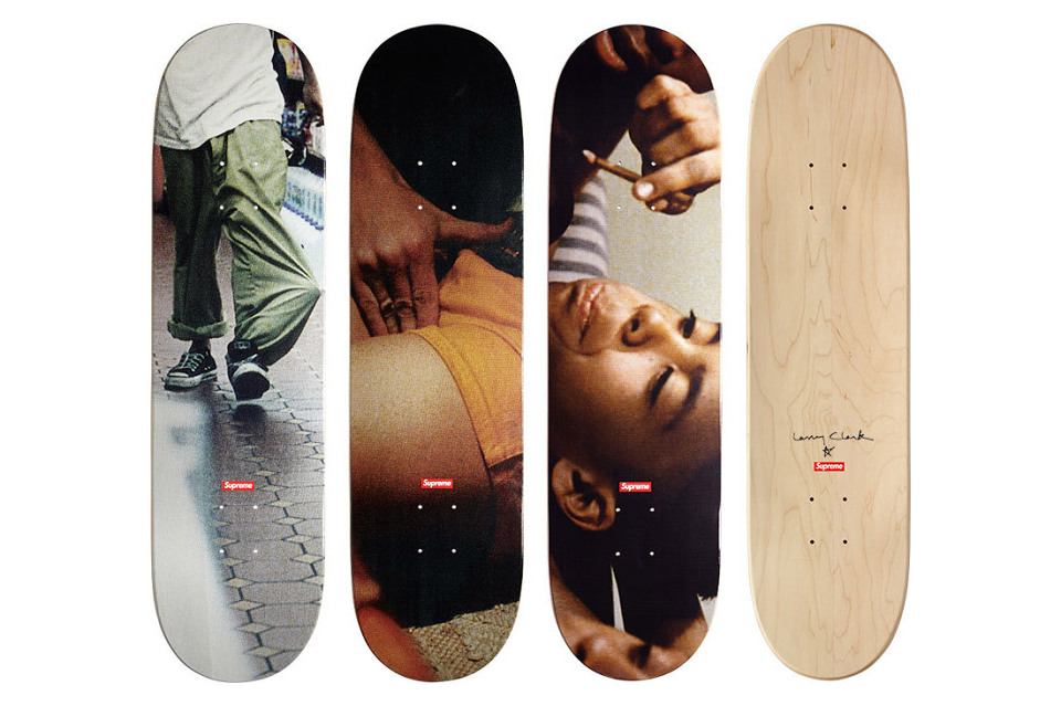 Supreme x Larry Clark : la collection capsule « KIDS »