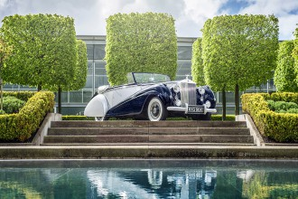 """Rolls-Royce dévoile son nouveau modèle """"Dawn"""""""