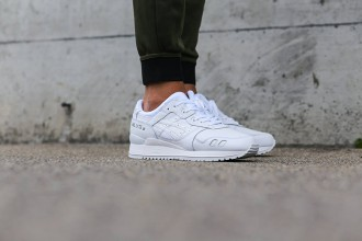 "ASICS GEL-Lyte III ""White"" And ""Black"""
