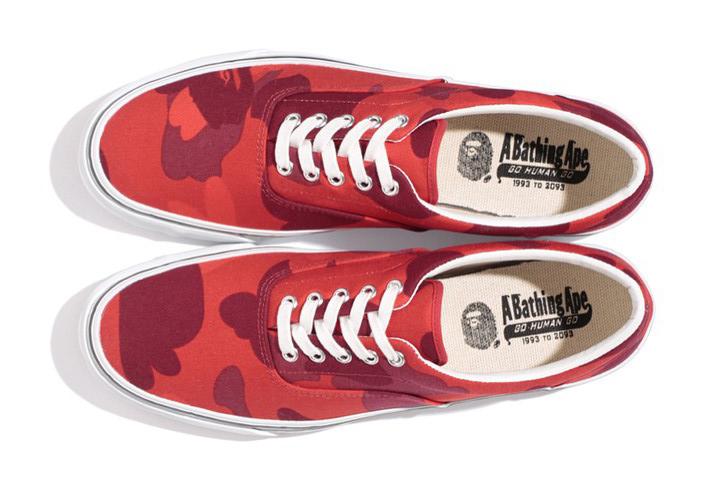 BAPE color Camo yank sta : L'hommage à la Vans !