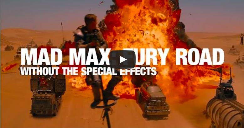 Découvrez 'Mad Max: Fury Road' sans effets spéciaux