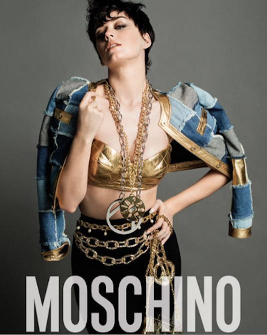 La chanteuse Katy Perry devient la nouvelle égérie Moschino