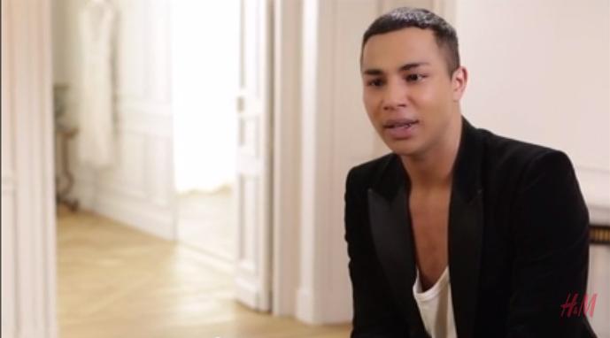 Olivier Rousteing :  «H&M et Balmain fondent une Nation» (VIDEO)