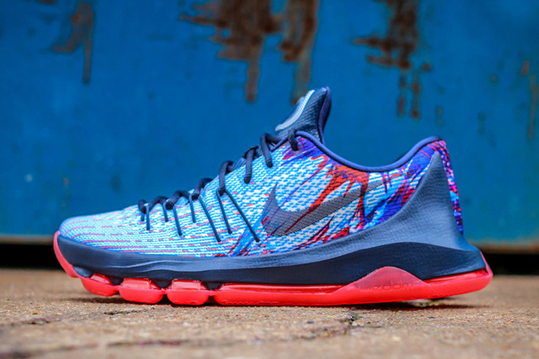 Aperçu de la Nike KD8 « USA » / Independance Day !