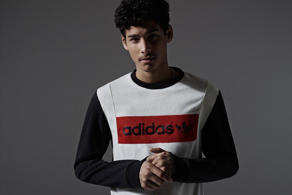 Adidas Originals présente sa dernière collection capsule «color blocking vintage»