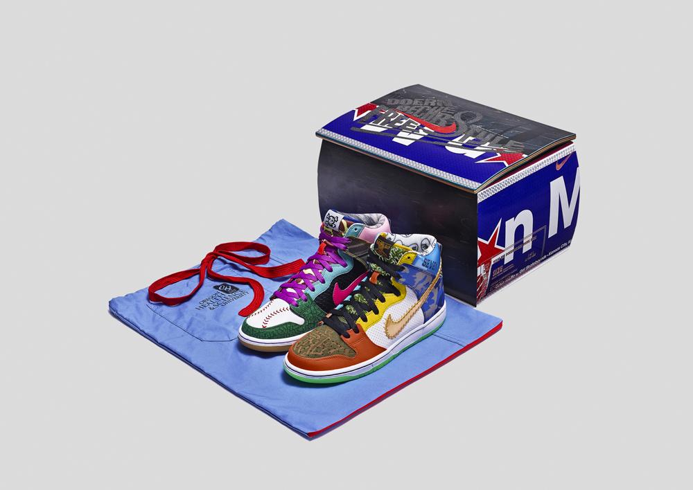Nike SB Dunk High  : des sneakers uniques aux enchères pour les enfants malades