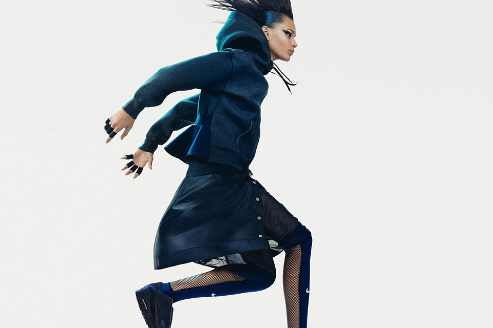 Sacai x NikeLab SS15 : Run to the future.