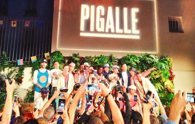 La collection printemps 2016 de Pigalle présentée hier à Paris