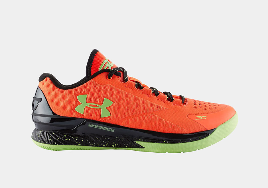 Et voici la nouvelle Under Armour Curry One Low « Bolt Orange » !
