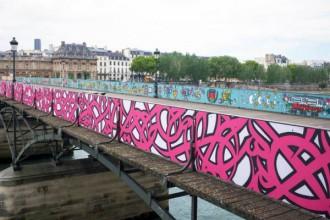 [CHRONIQUE] Pont des Arts : pourquoi le Street Art y a-t-il sa place