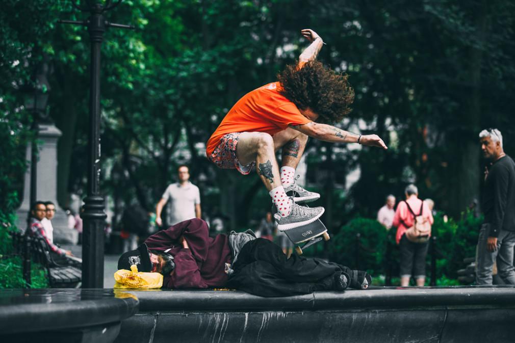 Jenkem fait rider la Yeezy Boost d'Adidas
