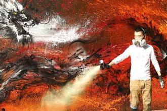 Sunday's Street Art #2 : Hua Tunan