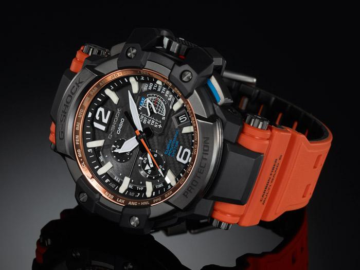 La bluffante G-Shock GPW-1000-4ER équipée d'un GPS